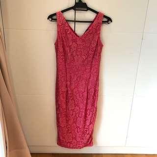 Divalicious Midi lace dress