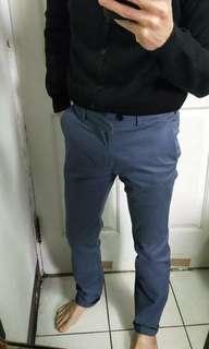 🚚 Uniqlo紳士合身休閒褲,28~29腰參考