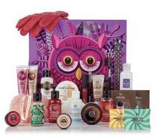 NEW - The Body Shop Enchanted Advent Calendar RRP $100