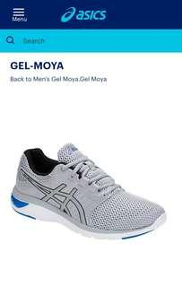 ASICS Gel Moya - brand new in a box