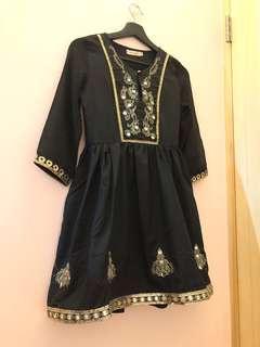 🚚 全新 性感 氣質 連身洋裝  黑色洋裝 薄紗洋裝