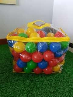 Plastic Colourful Balls