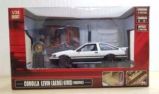Toyota Corolla Levin AE86 1:24 (Rare Item)