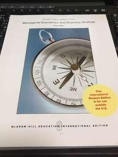 Managerial Economics and Business Strategy 9th Edition
