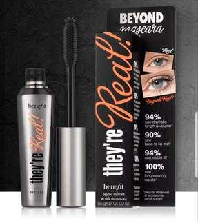 🚚 Full size Benefit They're Real! Mascara Black