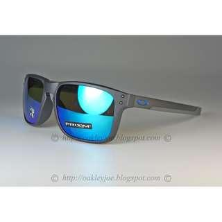 d29a7ef2be Oakley Mix Holbrook Asian Fit steel + prizm sapphire polarized oo9385-0857 sunglass  shades