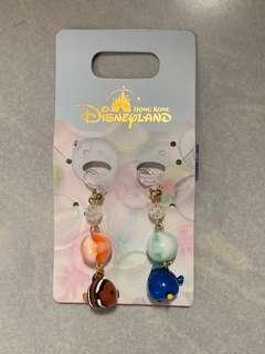 Disney 迪士尼 finding nemo dory 小丑魚mo仔 多莉 耳夾(非 耳環)