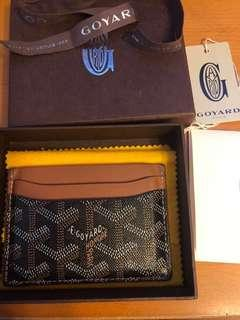 Authentic Goyard Card Holder Wallet