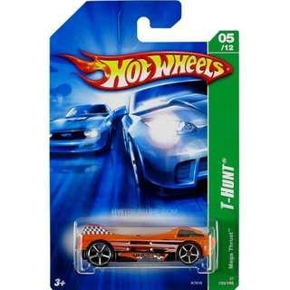 Hotwheels 2007 Treasure Hunt Regular Mega Thrust T-Hunt Rare