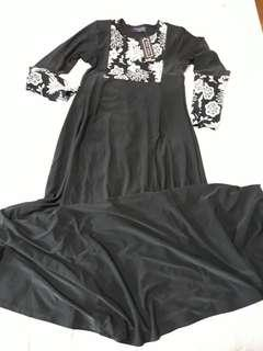 (Free NM) Brand New with Tag First Lady Long Dress Size XXS