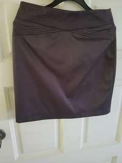 E-IN BROWN FORMAL WORKING SKIRT