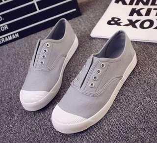 Canvas grey shoes (Size 41)