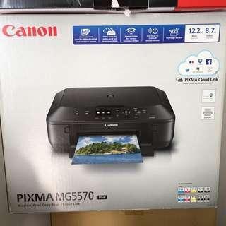Canon Pixma Printer MG5570 (black)