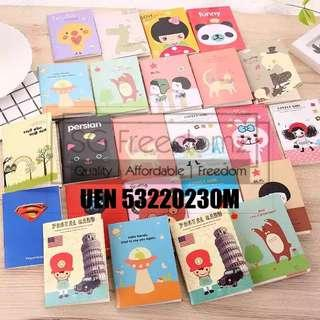 🚚 Cute Mini Notebooks