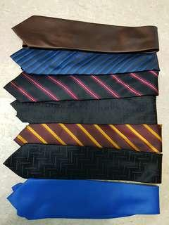 Ties for sales