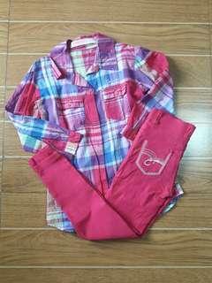 Long Sleeves and Jeggings Bundle | 4t