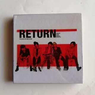 FTISLAND 3rd Mini Album RETURN