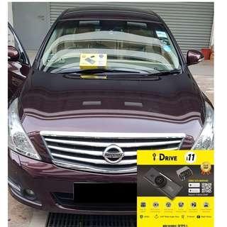 iDrive i11 Car Camera/Dashcam Installed on Nissan Teana
