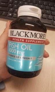 Blackmores Health Supplements Fish Oil 1000mg 120s