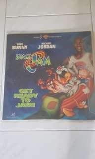 Space Jam Laser Disc