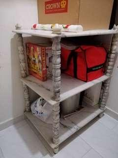 Marble 4 tier table stand