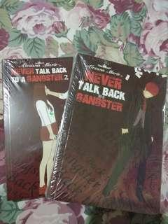 Wattpad books (Never Talk Back To A Gangster 1 and 2)