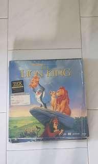 Lion King Laser Disc