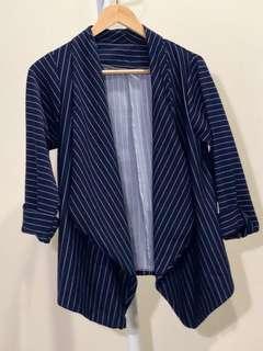 Blazer Navy Stripes