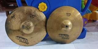 Zildjian Bronze Scinitar Hi Hat Cymbals