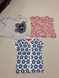 [Preloved] (0-6M) Baby Girl Top