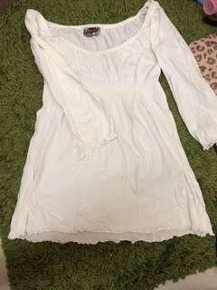 Zara trafaluc white top authentic
