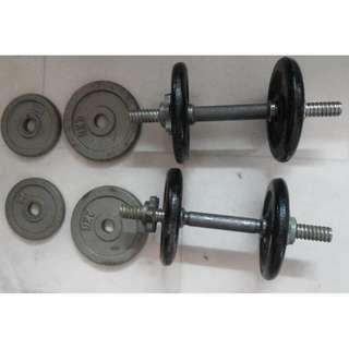 18kg dumbbell dumbell with weights