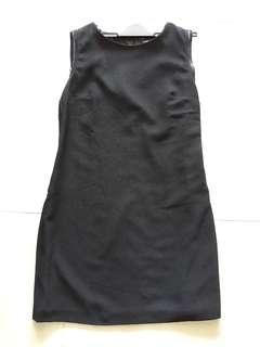 Warehouse black work dress