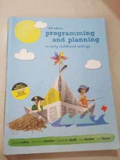 Programming and planning