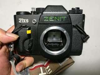 Zenit slr body m42 mount film camera