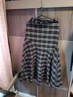 🚚 Clearance***checkered skirt