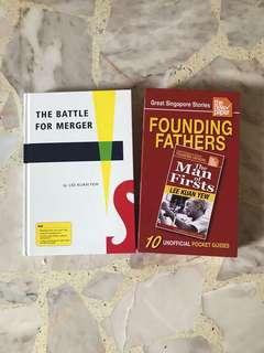 Lee Kuan Yew battle for merger/ great Singapore story founding fathers