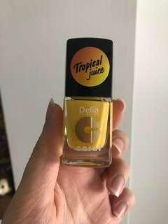 Yellow Colour Nail Enamel