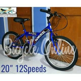 "20"" Mountain Bikes for Ladies & Children /Kids ☆ 12Speeds ☆ Brand new bicycles *available in Blue and Black(pic 2)"