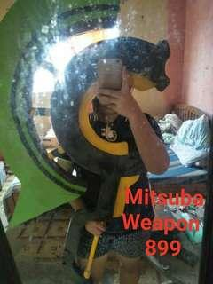 Mitsuba Sangu weapon