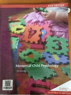 PL4224 Abnormal Child Psychology