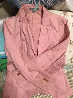 Pink light jacket