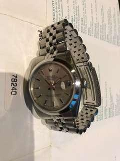 Roles datejust oyster 78240