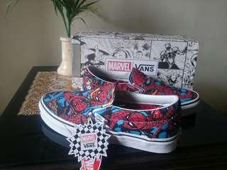 Sale!! Vans Marvel Slip On Original Murahh