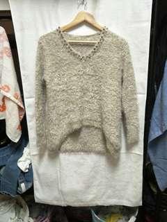 🚚 金蔥長袖毛衣(二手)