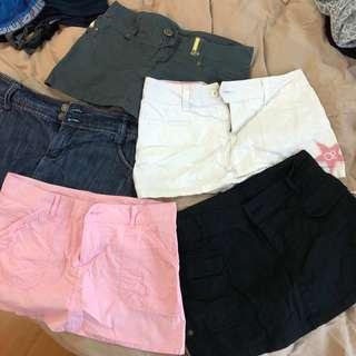 Ocean pacific skirt pants