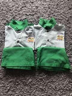 ICHIBAN MONTESSORI childcare M size BOY uniform