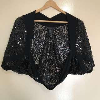 Eclipse Sequinned Dinner Cardigan