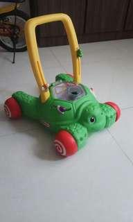 Little Tikes 2-in-1 Push and Play turtle walker