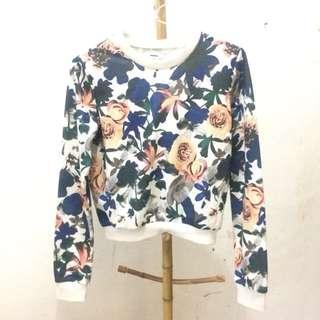 Flower Crop Sweater